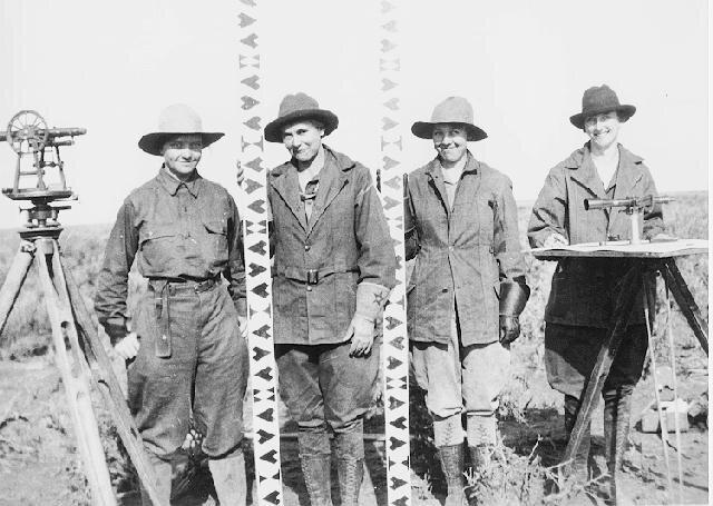 All Female Survey Crew 1918 - Land Surveyors | Pensacola Land Surveying